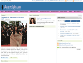 glamorfair.com screenshot