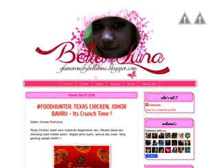 glamorousbybellaluna.blogspot.com screenshot
