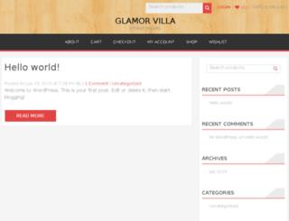 glamorvilla.com screenshot