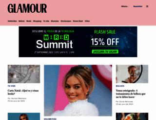 glamour.mx screenshot