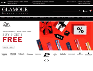 glamourbeautycenter.com screenshot