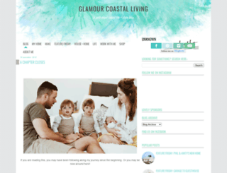 glamourcoastalliving.blogspot.com.au screenshot