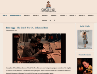 glamourdaze.com screenshot
