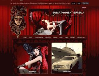 glamourentertainment.nl screenshot