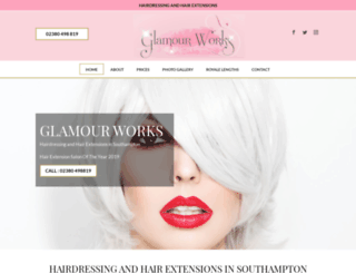 glamourworks.co.uk screenshot