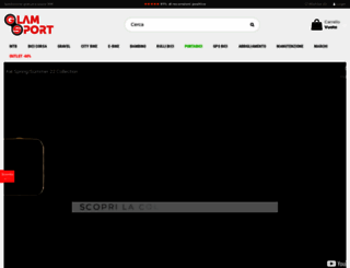 glamsport.it screenshot