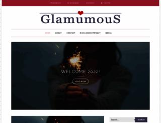 glamumous.co.uk screenshot