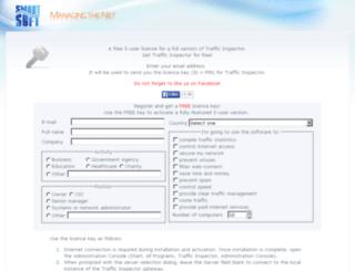 glarysoft.trafinsp.com screenshot