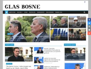 glasbosne.com screenshot