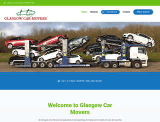 glasgowcarmovers.com screenshot
