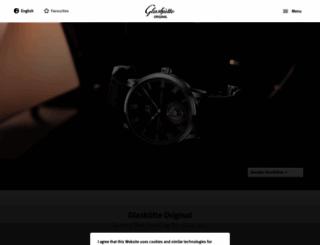 glashuette-original.com screenshot