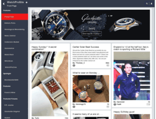 glashutte.watchprosite.com screenshot