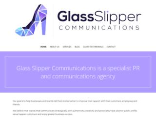 glass-slipper.co.za screenshot