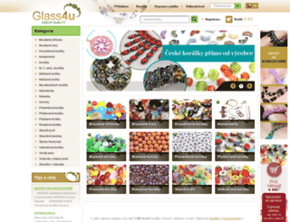 glass4u.cz screenshot