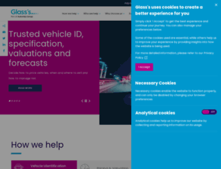 glassbusiness.co.uk screenshot