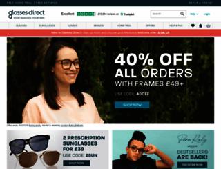 glassesdirect.co.uk screenshot
