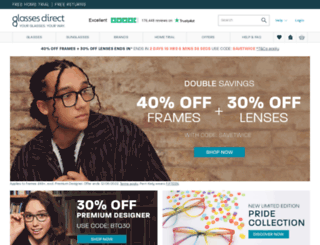 9338c6e8a6 Access glassesdirect.com. Glasses Direct ™ - 2 Pairs From £19 - As ...