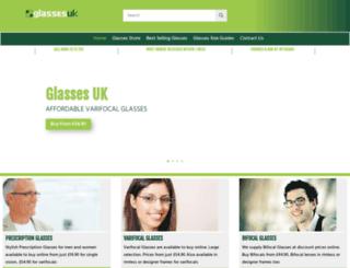 glassesuk.com screenshot