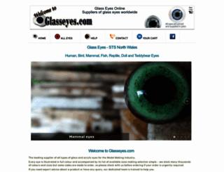 glasseyes.com screenshot