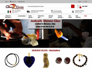 glassofvenice.com screenshot