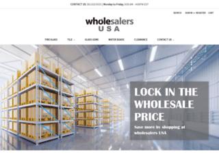 glasstilediscounters.com screenshot