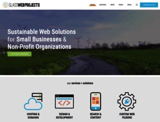 glasswebprojects.com screenshot