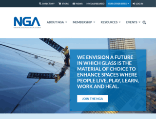 glasswebsite.com screenshot