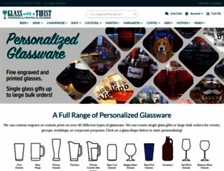 glasswithatwist.com screenshot