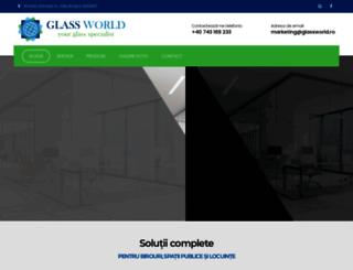 glassworld.ro screenshot