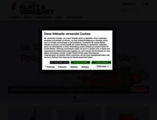 glattundverkehrt.at screenshot