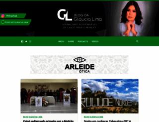 glaucialima.com screenshot