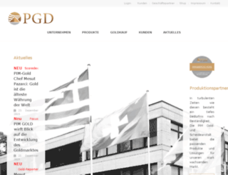 glauning.pgd.ag screenshot