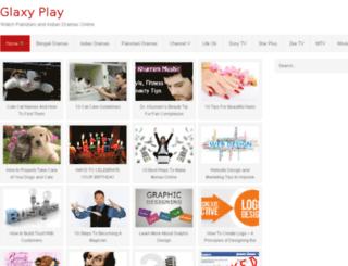 glaxyplay.com screenshot
