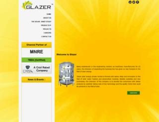 glazerindia.com screenshot