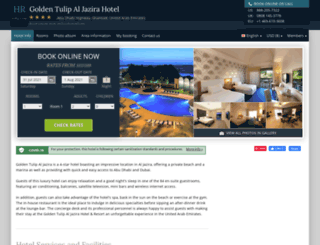 gldntulip-aljazira-resort.h-rez.com screenshot