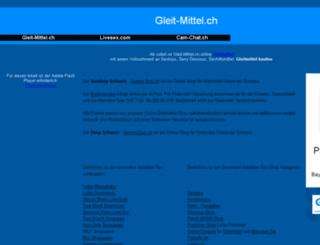 gleit-mittel.ch screenshot