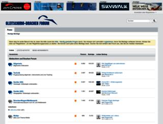 gleitschirmdrachenforum.de screenshot
