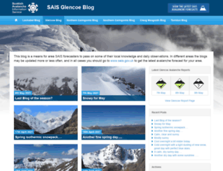glencoeblog.sais.gov.uk screenshot