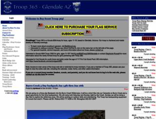 glendale365.mytroop.us screenshot