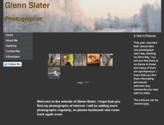 glennslater.co.uk screenshot