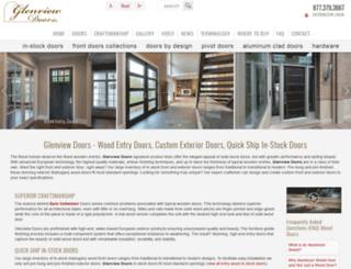glenviewdoors.com screenshot