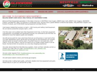 glenwoodfarmequipment.com screenshot
