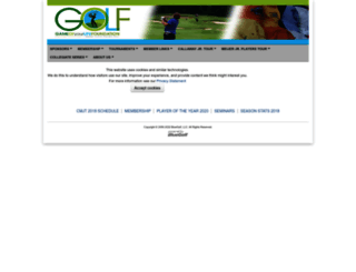 glfm.bluegolf.com screenshot