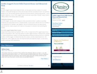 glforest.tributes.com screenshot