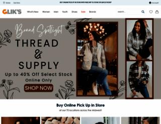 gliks.com screenshot