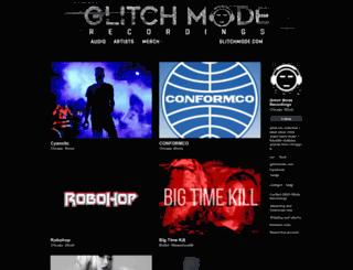 glitchmoderecordings.bandcamp.com screenshot
