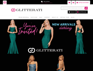 glitteratistyle.com screenshot