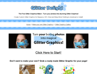 glitterdelight.com screenshot