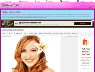 glitterphoto.net screenshot