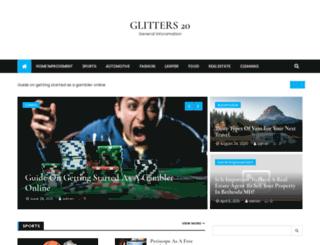 glitters20.com screenshot